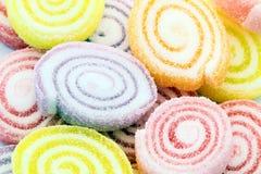 ๋Jelly. Jelly desserts, tasty and colorful stock photos