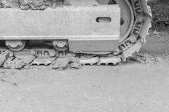 ๅCrawler Loader wheels Royalty Free Stock Images