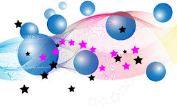 à¸'à¸'balloon gwiazdy Obrazy Royalty Free