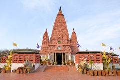 ฺฺBeautiful Thaise pagode Wat Pa Thailand Royalty-vrije Stock Afbeelding