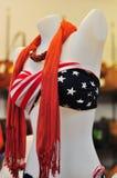 à¸'à¸'bikini en sjaal Stock Afbeelding
