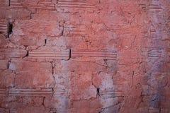 à¸'à¸'brickväggbakgrunder Arkivfoton