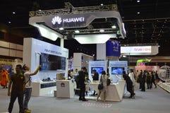 à ¹ ‡ à ¹ ‡ HUAWEI but w Cyfrowym Tajlandia 2016 Zdjęcia Stock