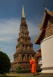 à ¹ ‡ Hariphunchaitemple, pagode in Lamphun, Thailand Royalty-vrije Stock Afbeelding