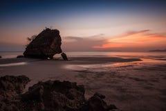 à ¹ 雍陵海滩, Sikao, Trang,泰国 库存图片