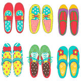 ฺBaby ботинки девушки Стоковая Фотография RF