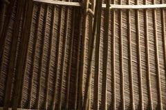 ฺBamboo Dach Stockbild