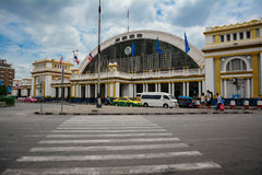 ฺBangkok σιδηροδρομικός σταθμός Στοκ φωτογραφίες με δικαίωμα ελεύθερης χρήσης