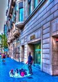 À Barcelone en Espagne Image stock