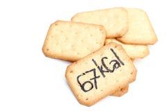 à¸'Biscuit θερμίδες Στοκ Εικόνες