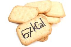 à¸'Biscuit θερμίδες Στοκ εικόνες με δικαίωμα ελεύθερης χρήσης