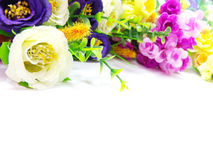 à¸'blossom λουλούδια ανθοδεσμών στο άσπρο υπόβαθρο στοκ εικόνα με δικαίωμα ελεύθερης χρήσης