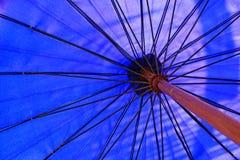 ฺBlue ομπρέλα Στοκ Εικόνα