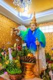ฺBo Bo Gyi на виске Tuang Paya животиков Bo, Мьянме Стоковые Фотографии RF