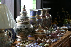 ฺBowl artístico de Tailândia Imagens de Stock Royalty Free
