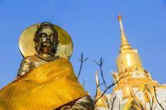 ฺBuddha och pagod Arkivbilder
