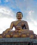 ฺBuddhastandbeeld in Bhutan Stock Afbeelding
