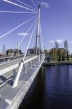 À côté du pont Image stock