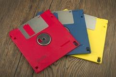 3,5 à disque souple Images stock