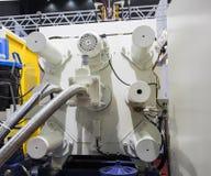 à haute pression la machine de moulage mécanique sous pression image libre de droits