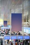 À l'aéroport Photos stock