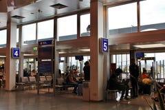 À l'aéroport W de Salzbourg un Mozart Photos libres de droits