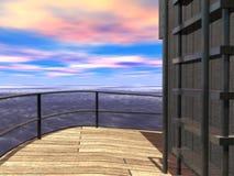 À l'extérieur mer 2 Images libres de droits