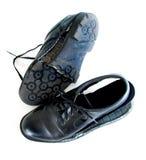 À l'extérieur portées chaussures photographie stock