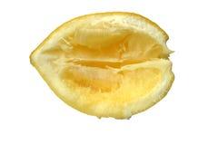 À l'extérieur serré citron Photos stock