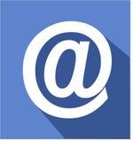 À l'icône de signe plate Photo stock