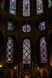 À l'intérieur d'Eglise Notre-Dame De Dijon ou église de Notre-Dame à Dijon, France photo libre de droits