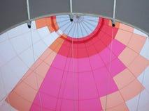 À l'intérieur d'un ballon Photographie stock libre de droits