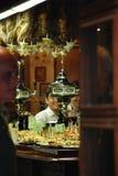 À l'intérieur d'un bar espagnol Images stock