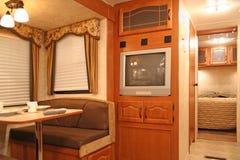 À l'intérieur d'un camping-car Photo libre de droits
