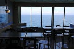 À l'intérieur d'un ferry Image libre de droits