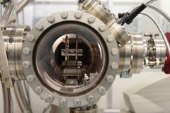 À l'intérieur d'un réacteur chimique d'épitaxie de faisceau Photos libres de droits