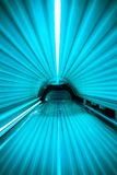 À l'intérieur d'un solarium inclus Image libre de droits