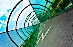 À l'intérieur d'un tunnel photo libre de droits