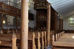 À l'intérieur d'une église Photographie stock