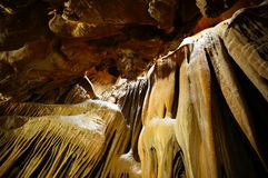 À l'intérieur d'une caverne Images libres de droits