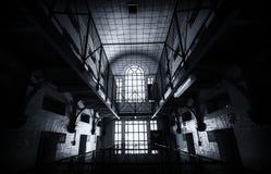 À l'intérieur d'une prison Image libre de droits