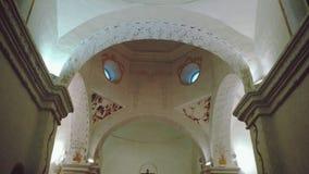 À l'intérieur de de l'église image stock