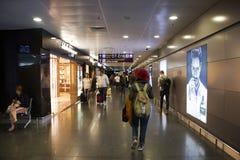 À l'intérieur de l'aéroport international de Kiev Boryspil à Kiev, l'Ukraine Photo libre de droits
