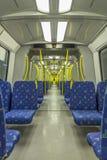 À l'intérieur de d'un train Image libre de droits