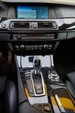 À l'intérieur de d'un véhicule photo libre de droits