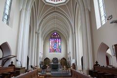 À l'intérieur de d'une église Image stock