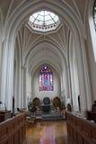À l'intérieur de d'une église Image libre de droits