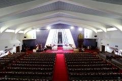 À l'intérieur de de l'église Photographie stock