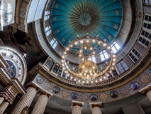 À l'intérieur de de l'église Image libre de droits