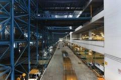 À l'intérieur de de l'entrepôt image libre de droits